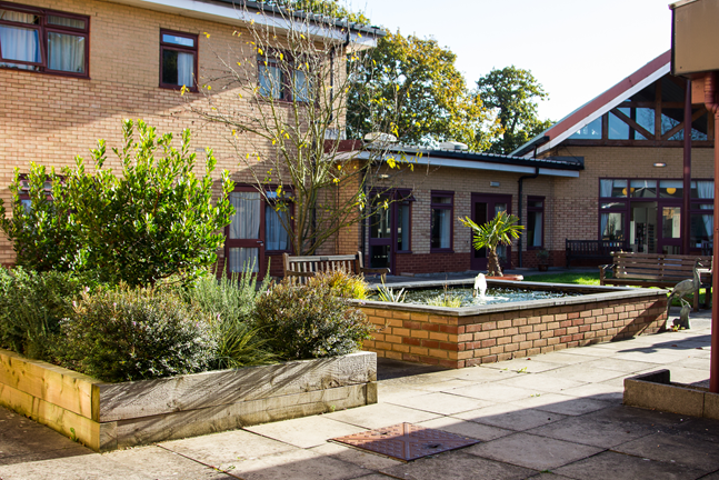 Jubilee Lodge courtyard