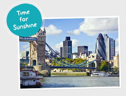 London - Time for Sunshine - Break Theme