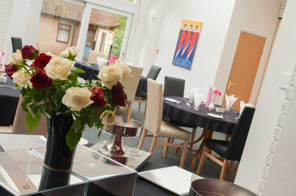 Revitalise Netley Waterside House dining room