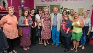 fundraisers at Revitalise shop