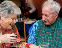 Guest and carer at Revitalise centre