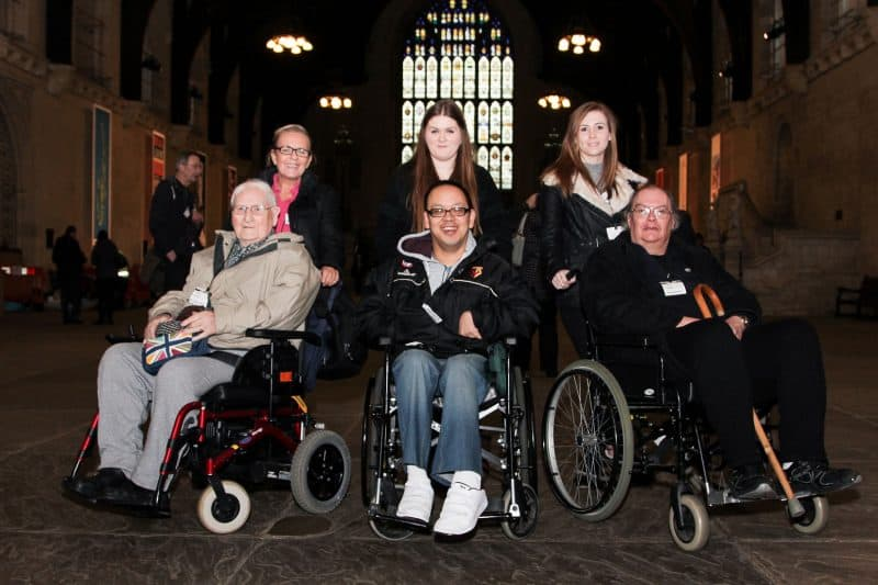 Revitalise guests on excursion to Palace of Westminster as part of holiday experience