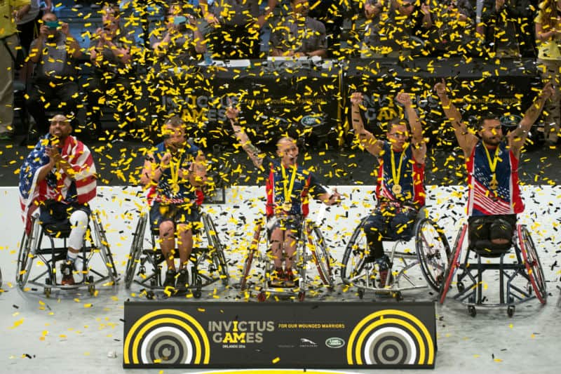 Paralympians at Invictus Games