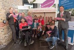 Revitalise guests and carers at Strandkorb event
