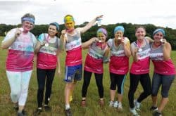Team Revitalise take on Color Vibe 2016