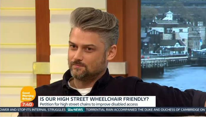 Will Pike at Good Morning Britain