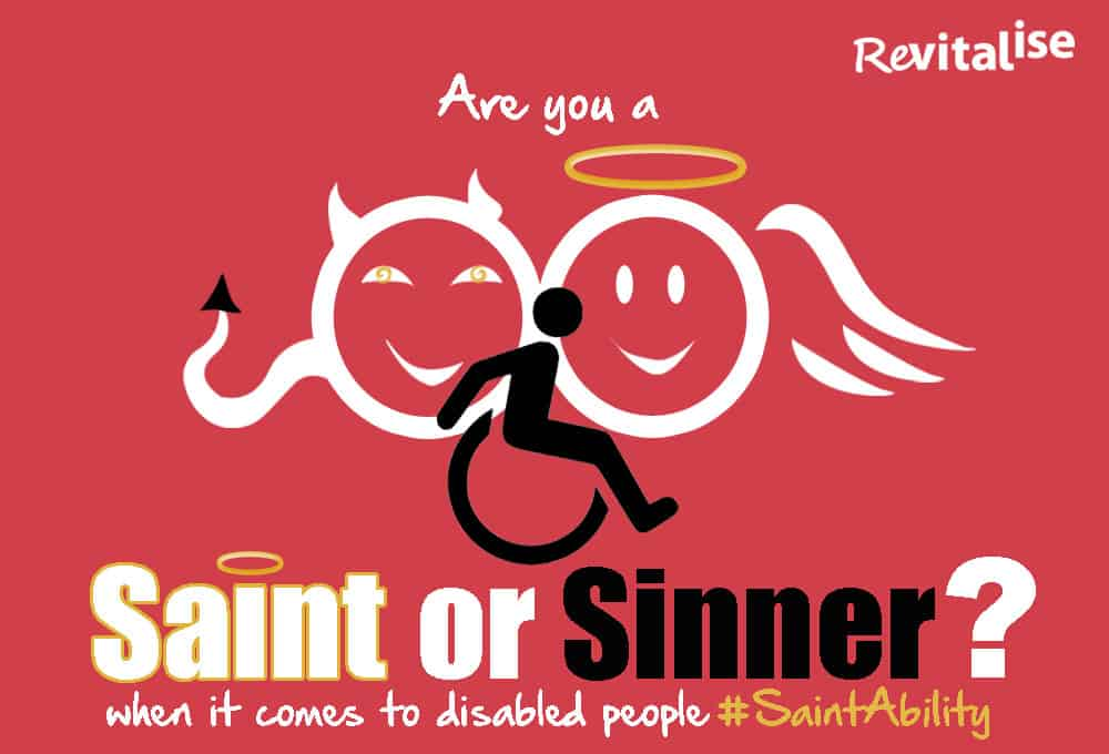Revitalise Saint or Sinner quiz logo