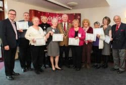 Netley holds celebration for long-serving volunteers