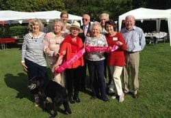 The Friends of Jubilee Lodge at their annual Hog Roast