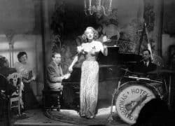 Marlene Dietrich and Friedrich Hollaender at Piano