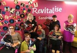 Sainsbury's flower donation to the Friends of Sandpipers