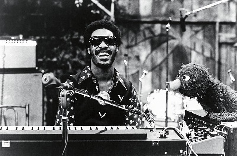 Stevie Wonder on Sesame Street
