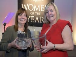 Women of the Year Award winners at event
