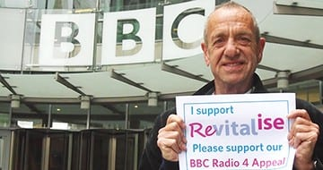 Arthur Smith supports Revitalise BBC Radio 4 Appeal
