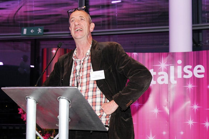 Arthur Smith at the Revitalise 50th Anniversary Gala