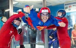 Indoor skydiving with iFly