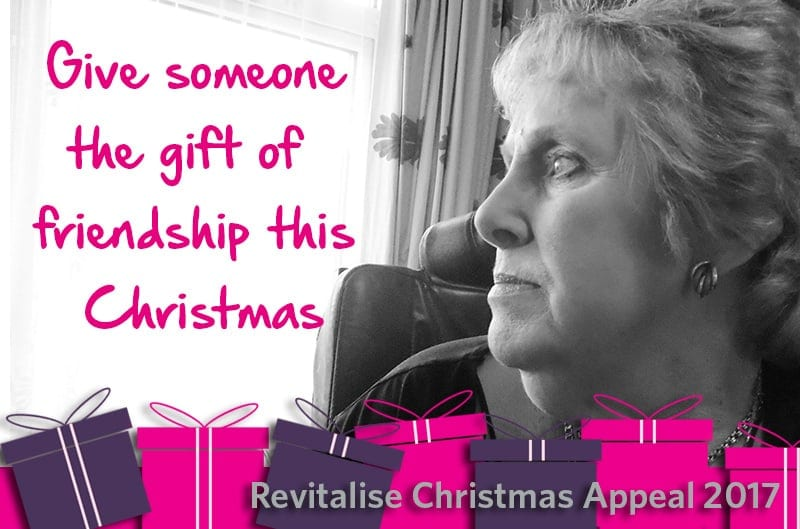 Revitalise 2017 Christmas Appeal gift of friendship infographic
