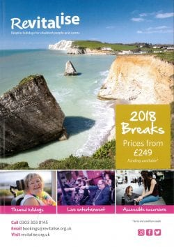 Revitalise 2018 brochure cover
