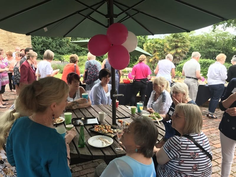 Revitalise welcomes long-serving staff and volunteers to celebratory event at Netley Waterside House