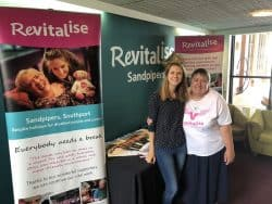 Revitalise Volunteering Manager and long-term Sandpipers volunteer Kath