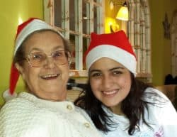 Revitalise guest and volunteer at Christmas