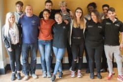 Volunteers from Prince's Trust