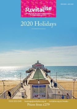 2020 Accessible Holidays Brochure